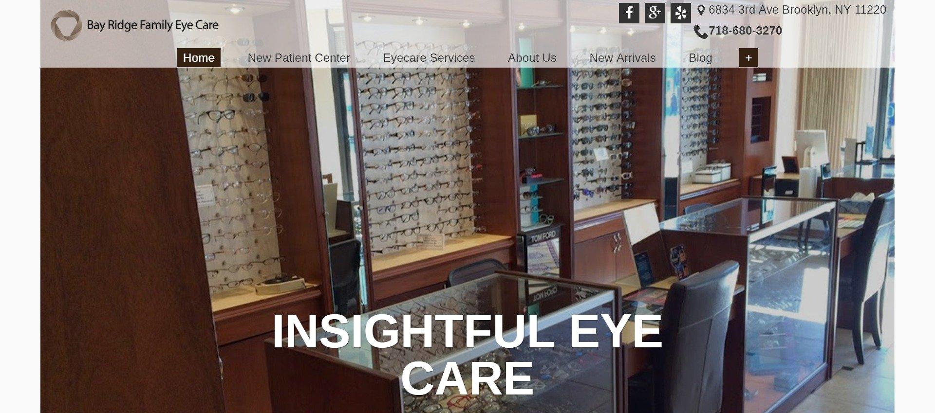 best-optometry-websites-www.bayridgefamilyeyecare.com