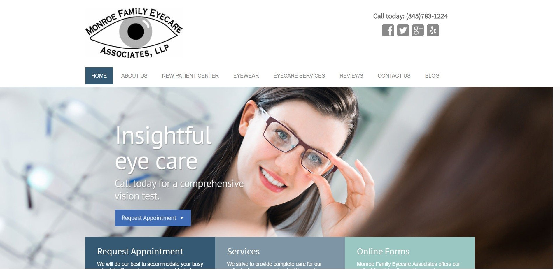 23daa447851d best-optometry-websites-www.monroefamilyeye.com. Minimalist ...