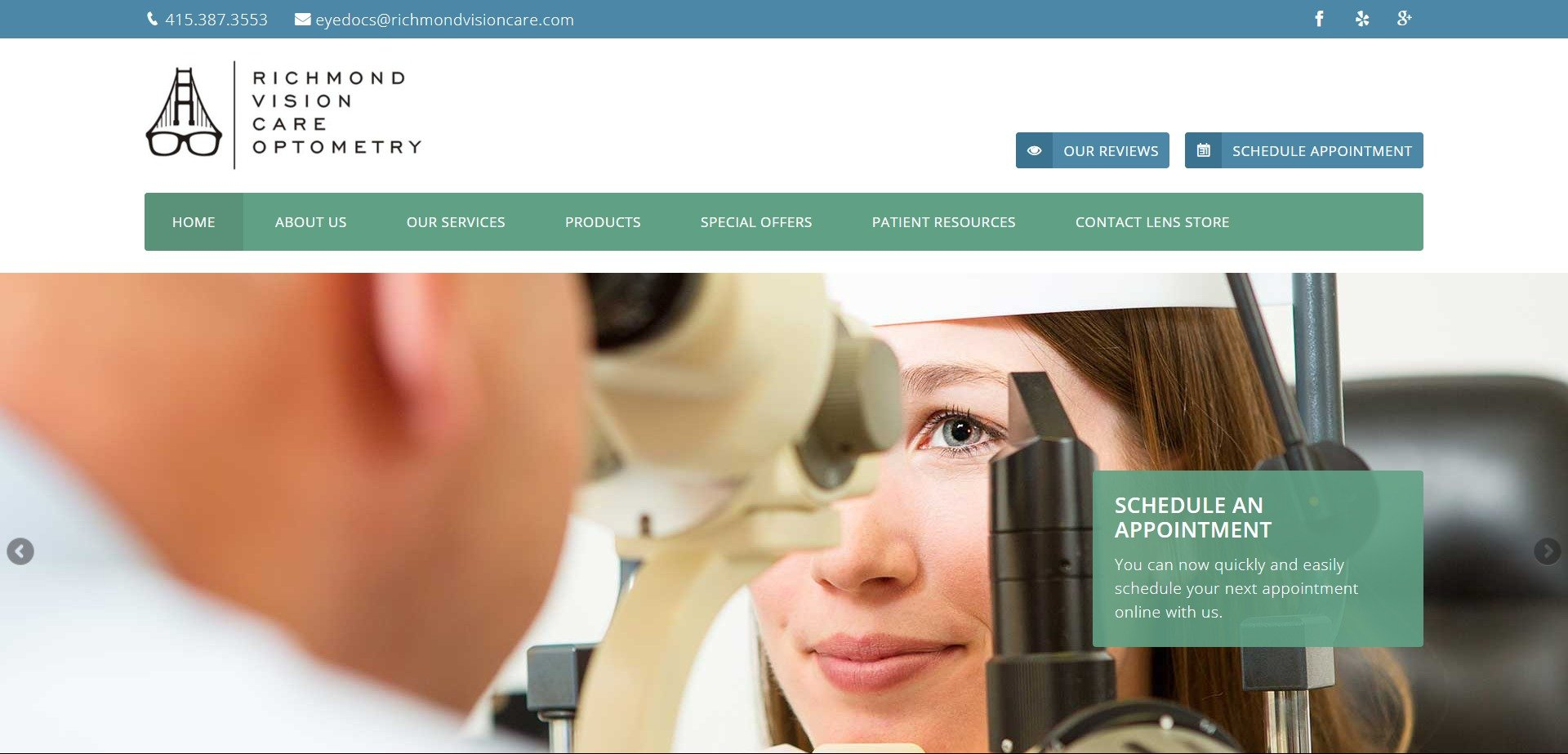 best-optometry-websites-www.richmondvisioncare.com